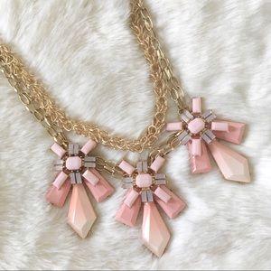 Baublebar Pink Ombré Statement Necklace
